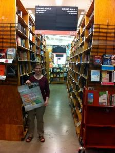 My idea of heaven: a bookstore so big I need a map.
