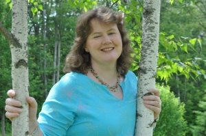 Lynda Mullaly Hunt, author of ONE FOR THE MURPHYS and founder of Book Train